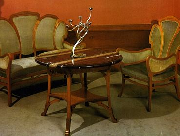 Modern style ou art nouveau deco meuble - Meuble art nouveau ...